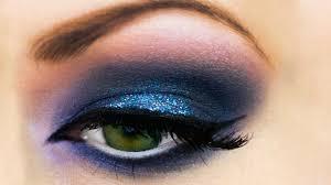 blue smokey eyes makeup do u0027s youtube