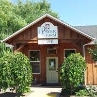 Flower Farm Loomis - flower farm coffee shop café in loomis