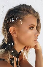 hair ring starlight hair ring silver beginning boutique