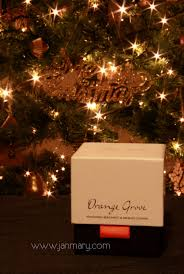 white company orange grove candle review and my twinkly lights