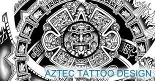 aztec tattoos templates calendar get yours