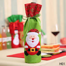 online shop 1pc christmas decorations for home santa claus wine