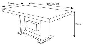 hauteur standard table de cuisine dimension table cuisine beau unique hauteur table a manger standard