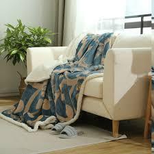 jeter de canape berbère couverture polaire douce et chaude raschel couvertures