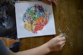 rainy day fun with colored rice u2022 are you there god it u0027s me