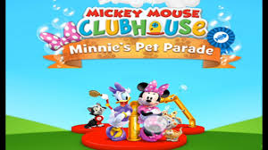 mickey mouse clubhouse games minnie u0027s pet parade games disney jr