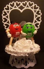 m m cake toppers m m candy wedding cake topper blue green m m 2 wedding cake