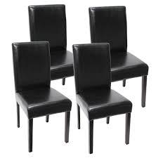 Esszimmerst Le Schwarz Leder Ikea Esszimmerstühle Leder Rheumri Com