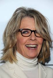 choppy hairstyles for over 50 diane keaton s choppy layers haute hairstyles for women over 50