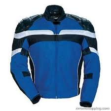 blue motorcycle jacket arrow armor racing mesh and leather motorcycle jacket blue