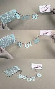 diy save the dates easy diy save the date ribbon garland weddingomania