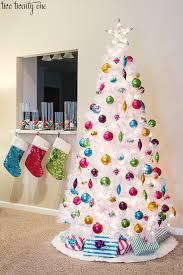 small white christmas tree our 2014 christmas tree