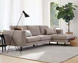 jorgen chaise sectional from scandinavian designs sectional sofa