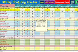 Diet Tracker Spreadsheet Workout Spreadsheet Thebridgesummit Co