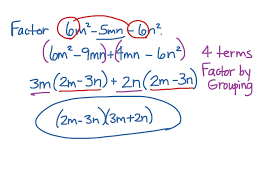 factoring problem similar to trinomials with leading coefficient not 1 math showme