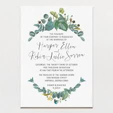 wedding invitations printable delicately framed wedding invitation printable press