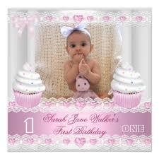 baby 1st birthday party invitations drevio invitations design