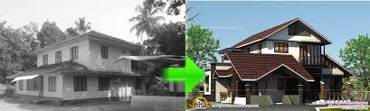 house renovation before and after old house renovation ideas kerala