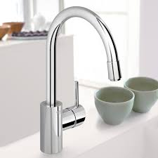 grohe 32665001 pull down spray kitchen faucet u2013 mega supply store