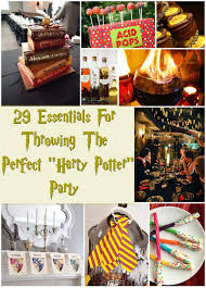 29 essentials for throwing the perfect harry potter party harry