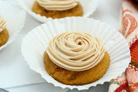 maple frosting pumpkin cookies with maple frosting dash of savory