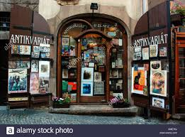 antique store in prague stock photo royalty free image 15237113