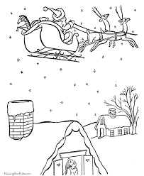 free printables santa claus color christmas winter