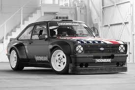 mustang 4 wheel drive hoonigan racing garage