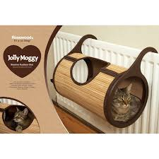 rosewood bamboo cat radiator bed amazon co uk pet supplies