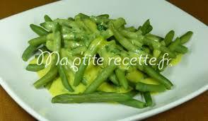 cuisiner des haricots verts haricots verts sauce poulette recette accompagnement haricot vert