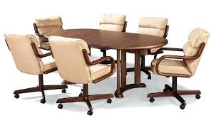 dining table with caster chairs kitchen sets with caster chairs kitchen table sets with caster