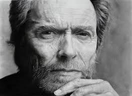 clint eastwood portrait pencil drawing by giacomoburattini on