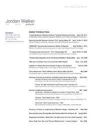 Resume For Factory Worker Event Production Resume Free Resume Example And Writing Download
