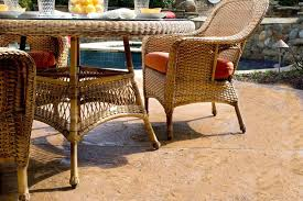 Patio Furniture Dining Set Tortuga Outdoor Wicker 5 Dining Set Wicker