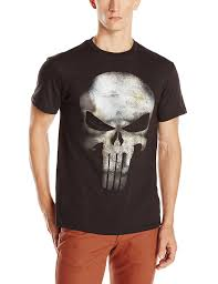Wet T Shirt Halloween Costume by Marvel The Punisher Men U0027s No Sweat T Shirt Amazon Com