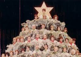 history the singing christmas tree