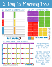 weekly family meal planner template 21 day fix meal planning tips my favorite foods unoriginal mom 21 day fix planning tools
