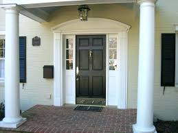 Vinyl Door Trim Exterior Outside Door Trim Exterior Door Trim Kit Painting Front Door And