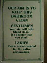 Funny Bathroom Pics 20 Best Funny Bathroom Signs Images On Pinterest Bathroom Signs