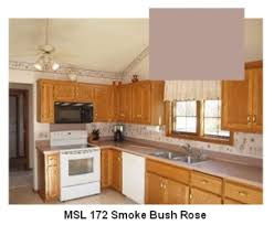 wall paint color to make mauve countertops look less ugly