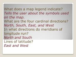 what is a map legend welcome to geography maps basic map components