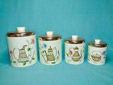 antique canisters kitchen ransburg canister ebay