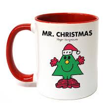 mr christmas mr christmas large porcelain colour handle mug shop mrmen