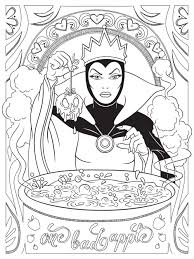 Halloween Themed Coloring Pages by Celebrate National Coloring Book Day With Disney Style Evil