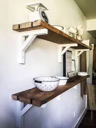 Floating Wood Shelves Diy by 25 Best Dining Room Shelves Ideas On Pinterest Dining Room