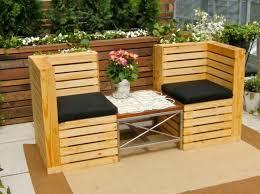 canapé de jardin en palette 50 idées originales pour fabriquer votre salon de jardin en palette