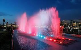 Wichita Kansas Wind Blows Wichita U0027s Waterwalk Fountains Off Schedule The