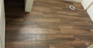 Installing Bathroom Floor - innovative wood tile flooring installation porcelain tile