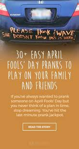 Funny Door Stops 30 Easy April Fools U0027 Day Pranks To Play On Your Family And Friends