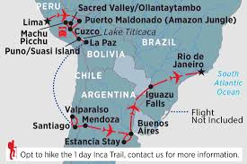 Columbia Map South America by South America Tours U0026 Travel Peregrine Adventures Us